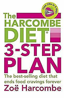 Harcombe Diet 3-Step Plan : The Best Selling Diet That Ends Food Cravings -