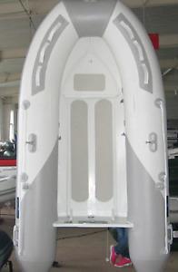 New  9 ' Aluminum Rigid Bottom Inflatable boat