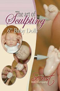 Tutorials to sculpt your own One of a Kind clay baby doll!