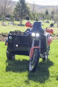 Sidecar 2wd ktm 640