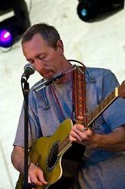 Singer guitarist seeking gigs