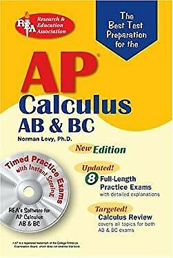 Best Test Preparation for the AP Calculus AB and BC by Levy, (Best Ap Calculus Textbook)