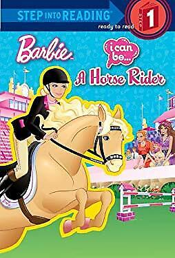 I Can Be a Horse Rider Barbie Library Binding Mary Man-Kong