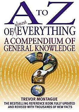 Used, to Z of Almost Everything : A Compendium of General Knowledge-ExLibrary for sale  Dunfermline