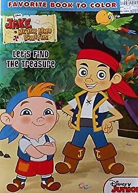 Jake The Pirate Coloring Pages (Jake and the Never Land Pirates! Coloring & Activity Book: 32 Pages!!! Disney)