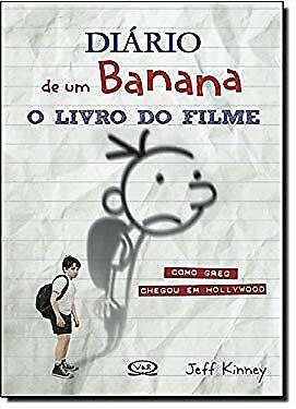 Diario de Um Banana: O Livro do Filme (Em Portugues do Brasil) by Jeff Kinney, usado comprar usado  Enviando para Brazil