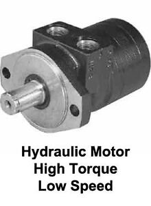 Torque 693 lbs max oil flow 9 gpm hydraulic motor low for High speed hydraulic motors for sale