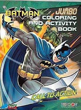 Batman Jumbo Coloring and Activity Book 2 Pack by n