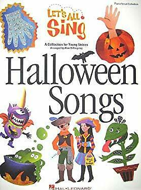 Let's All Sing Halloween Songs : A Collection for Young Voices](Halloween Song Piano)