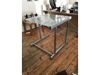 Frosted Glass Desk from John Lewis