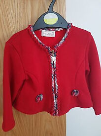 Mayoral cardigan for baby girl 6-12 months