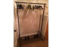 """Portis"" Open clothes rack"