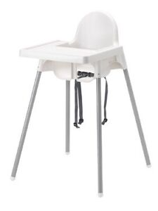 ANTILOP Ikea highchair with tray. Two to sell $15 each Hampton Bayside Area Preview