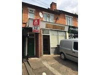 GROUND FLOOR SHOP TO LET IN THE AREA OF HALL GREEN ON THE MAIN STRATFORD ROAD