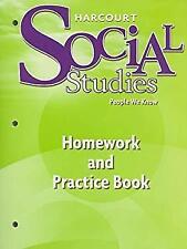 Harcourt social studies homework and practice book grade 5