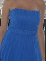 ROBE DEMOISELLE D'HONNEUR bleu royal BCGB Maxazria