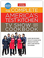Complete America's Test Kitchen TV Show Cookbook-New + Plates