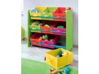 Kids Storage shelf excellent condition
