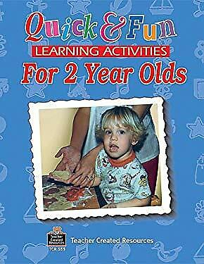Quick and Fun Learning Activities for 2 Year Old by Levin, Ina Massler  - Learning Activities For 2 Year Olds