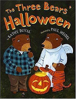Three Bears Halloween Book (Three Bears' Halloween by Duval, Kathy)