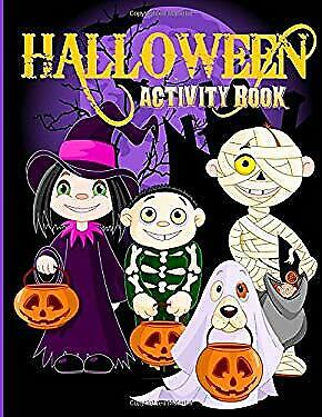 Halloween Coloring Page (Halloween Activity Book: Over 70+ Halloween Activities & Coloring Pages for)