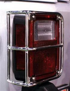 Jeep - Front/Rear Euro Light Guards 07-17 JK 2Dr & 4Dr