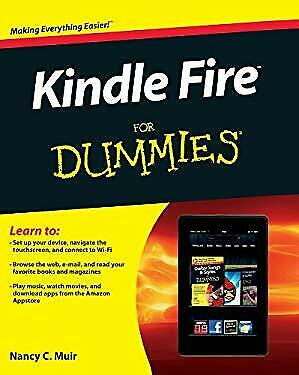 Kindle Fire for Dummies by Muir, Nancy C