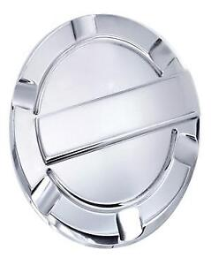 Fuel Door - Polished Aluminum - 09-14 Ford F-150 - Non Locking