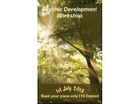 Psychic Development Workshop - A One day workshop for all levels to learn and develop - Book Now!