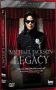 DVD:MICHAEL JACKSON - LEGACY - NEW Region 2 UK