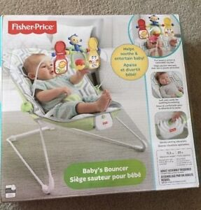 Fisher price baby bouncer Edmonton Edmonton Area image 1