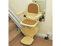 Brooks right hand stairlift with fitting