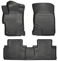 Honda CIVIC 2014-2015 HUSKEY FITTED RUBBER FLOOR MATS
