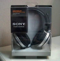 Sony DJ and studio monitor headphones (NEW)