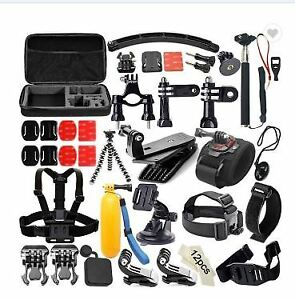 Nudoland's Action Camera Accessory Kit (70 in 1)