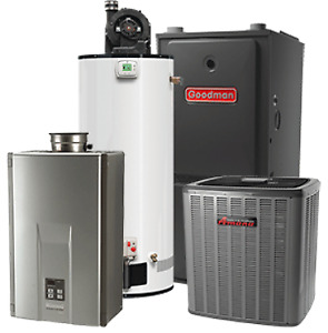 AC HI EFF FREE WITH EVERY HI EFF FURNACE LOWEST PRICES &  REBATE