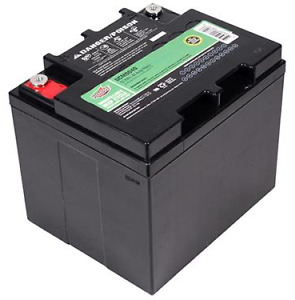 Interstate Sealed Lead Acid AGM Large Deep Cycle Battery DCM0040