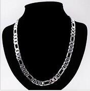 Mens Solid Silver Necklace