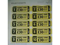 Paintball tickets x 20