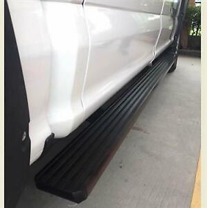 Premium Textured Black Running Boards | Dodge RAM F150 F250 Silverado GMC Sierra Toyota Tundra Tacoma Colorado Canyon