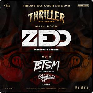 THRILLER HALLOWEEN at Rebel on Friday, October 26