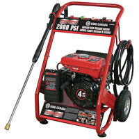 GASOLINE POWERED 2000 lb PRESSURE WASHER