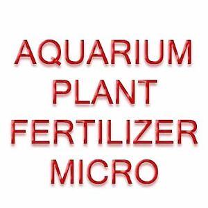 FERTILIZER FOR AQUARIUM PLANTS (MICRO/TRACE MIX) : FISH SAFE
