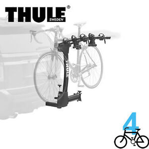 Thule bike racks instock now all styles- hitch, roof and trunk