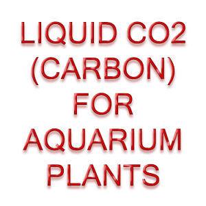 LIQUID CARBON - PLANT GROWTH AID -SUPPLEMENT FOR AQUARIUM PLANTS