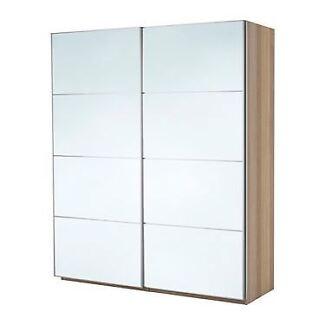 IKEA Pax mirror wardrobe