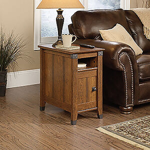 Brand New Sauder Side Table in Washington Cherry Retail $203