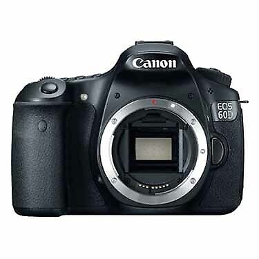 Used Canon EOS 60D DSLR Camera Body (Some small scratches on LCD screen), 70k sh