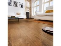 Colours Monito Caramel Oak Real Wood Flooring 1.58m2 pack .. with free underlay and trims