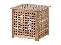 2 Ikea Hol storage tables chest unit